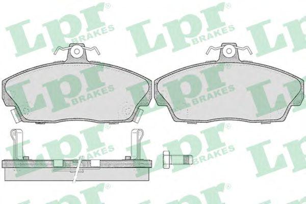 Тормозные колодки LPR 05P430