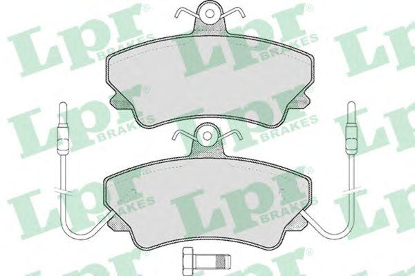Тормозные колодки LPR 05P452
