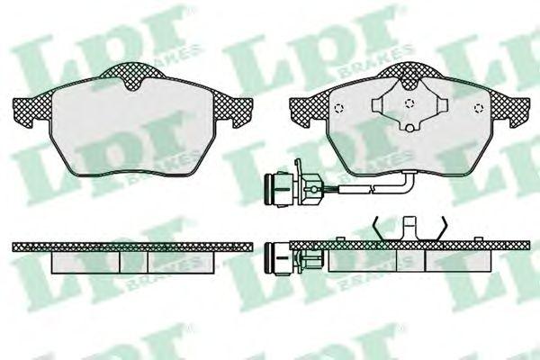 Тормозные колодки LPR 05P453