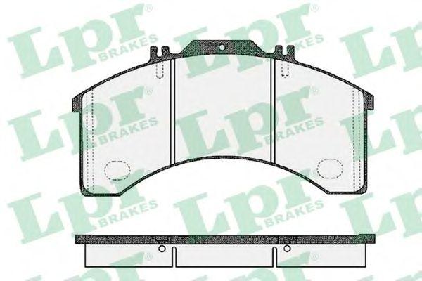 Тормозные колодки LPR 05P473
