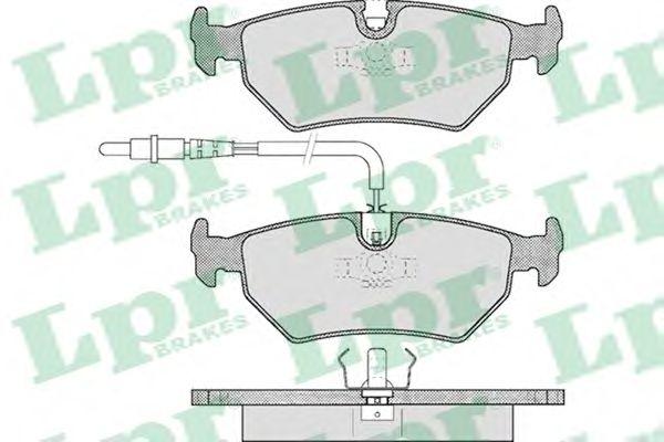 Тормозные колодки LPR 05P497