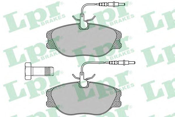 Тормозные колодки LPR 05P498