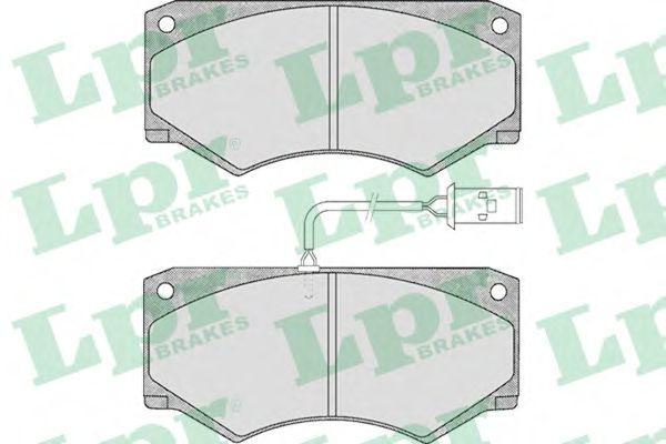 Тормозные колодки LPR 05P499