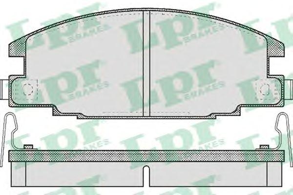 Тормозные колодки LPR 05P544