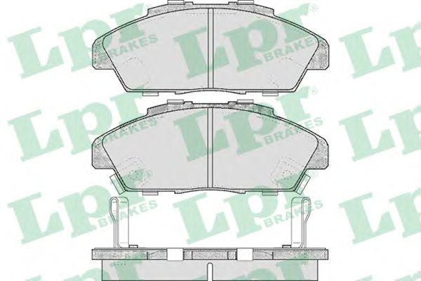 Тормозные колодки LPR 05P571