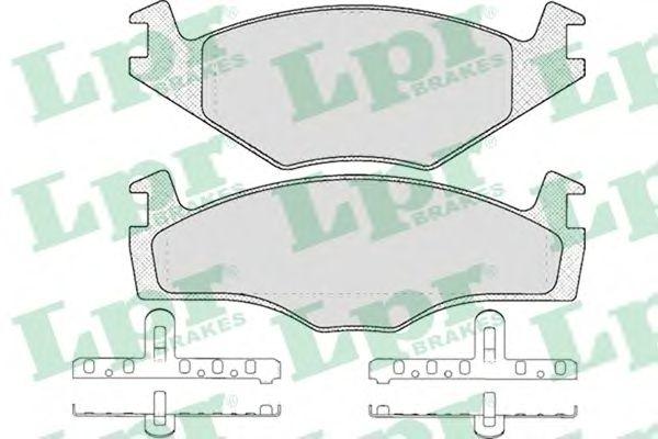 Тормозные колодки LPR 05P591