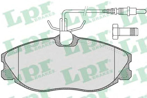 Тормозные колодки LPR 05P620