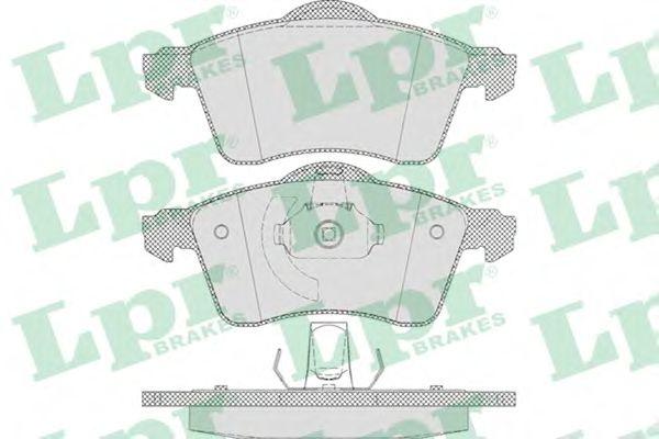 Тормозные колодки LPR 05P645