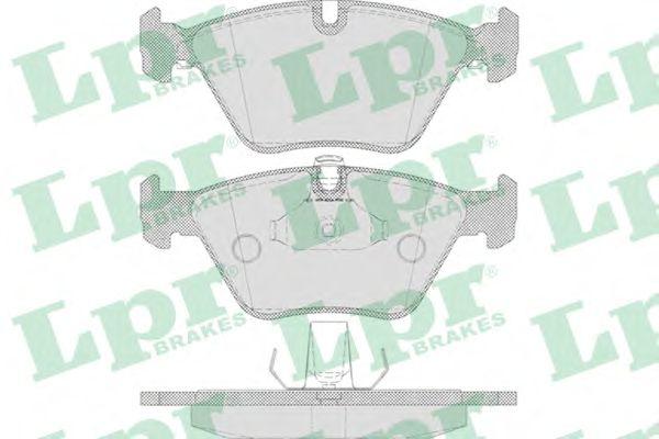 Тормозные колодки LPR 05P649