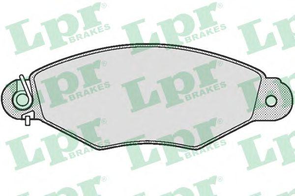 Тормозные колодки LPR 05P661