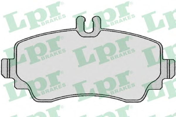 Тормозные колодки LPR 05P670