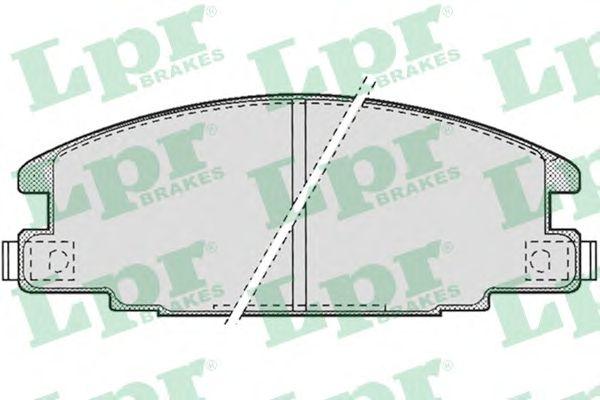 Тормозные колодки LPR 05P685