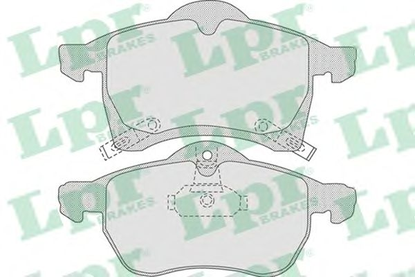 Тормозные колодки LPR 05P690