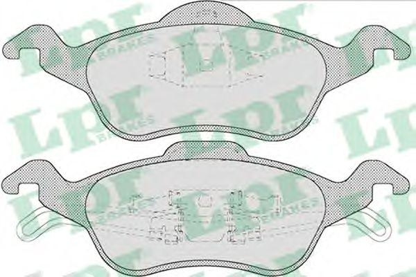 Тормозные колодки LPR 05P696