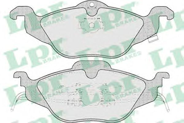 Тормозные колодки LPR 05P698