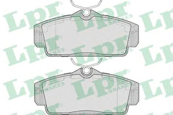 Тормозные колодки LPR 05P706