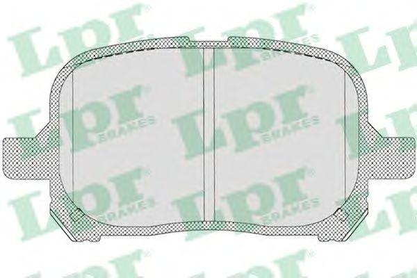 Тормозные колодки LPR 05P712