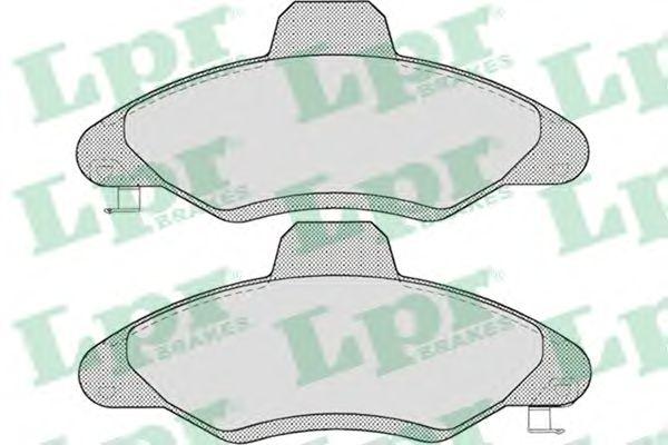 Тормозные колодки LPR 05P717