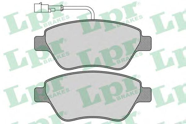 Тормозные колодки LPR 05P763
