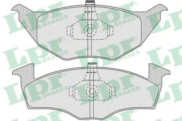 Тормозные колодки LPR 05P776