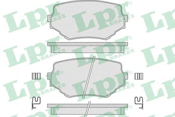 Тормозные колодки LPR 05P798