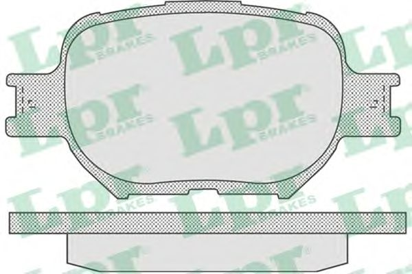 Тормозные колодки LPR 05P837