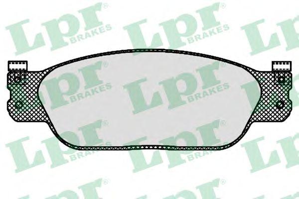 Тормозные колодки LPR 05P843