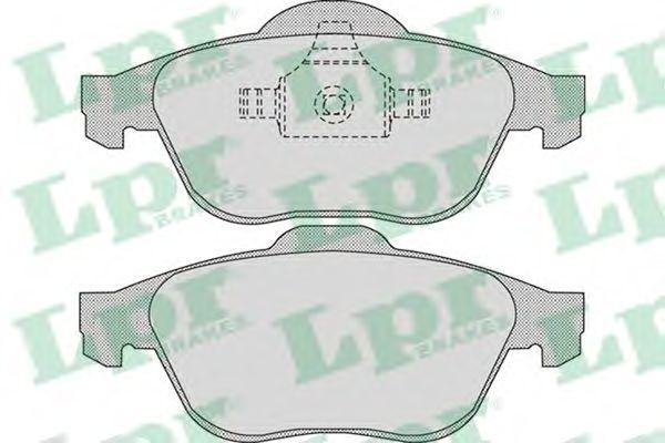 Тормозные колодки LPR 05P898