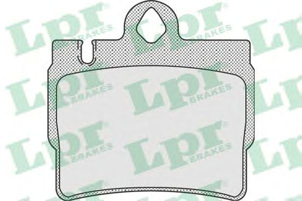 Тормозные колодки LPR 05P905