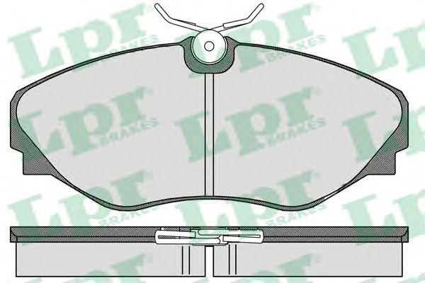 Тормозные колодки LPR 05P908
