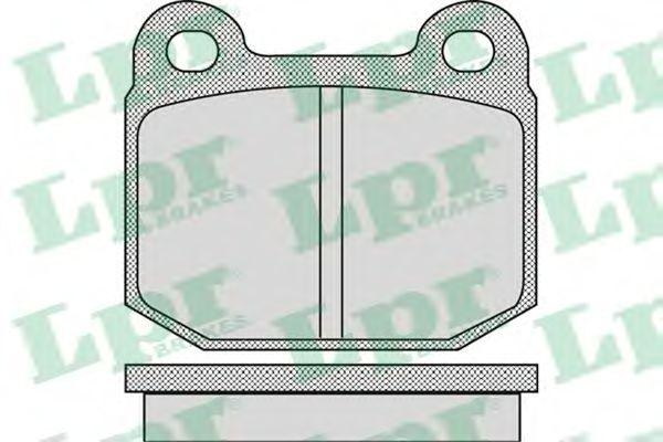 Тормозные колодки LPR 05P947