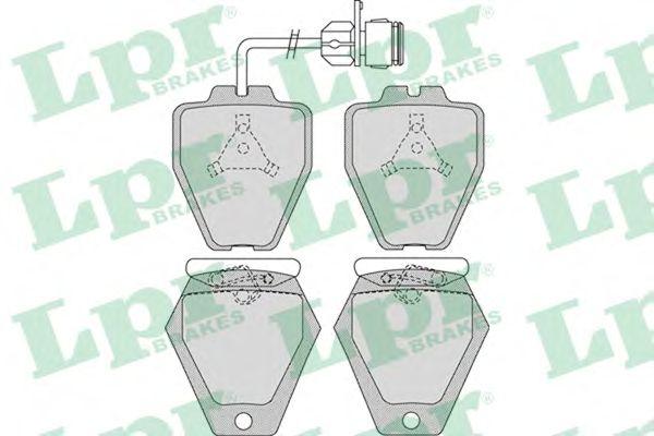 Тормозные колодки LPR 05P981