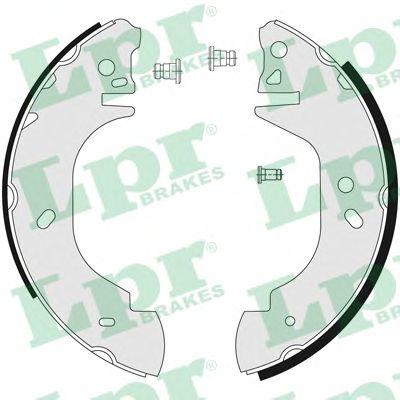 Тормозные колодки LPR 06760