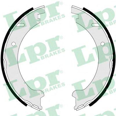 Тормозные колодки ручника LPR 07235