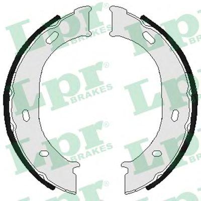 Тормозные колодки ручника LPR 07960