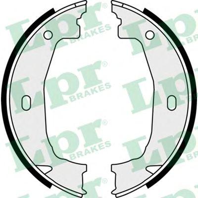 Тормозные колодки ручника LPR 08100