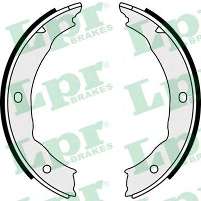 Тормозные колодки ручника LPR 08400