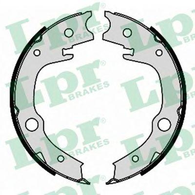 Тормозные колодки ручника LPR 09340