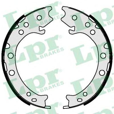 Тормозные колодки ручника LPR 09420