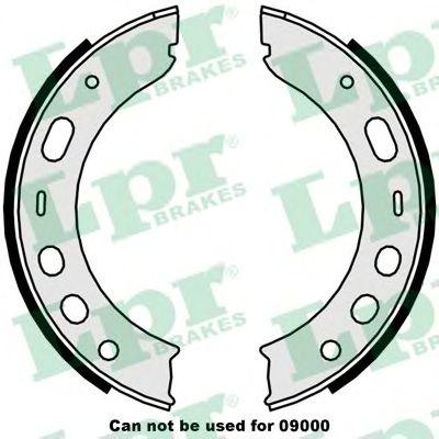 Тормозные колодки ручника LPR 09510