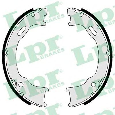 Тормозные колодки ручника LPR 09560