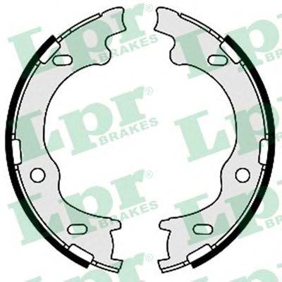 Тормозные колодки ручника LPR 09630