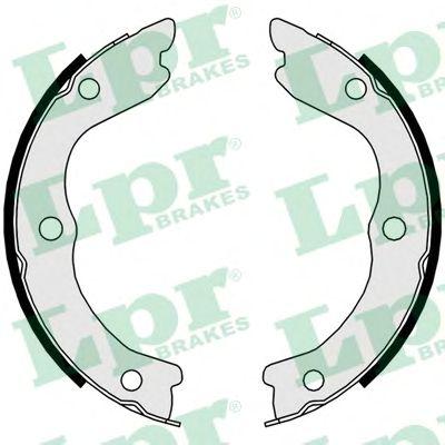 Тормозные колодки ручника LPR 09730