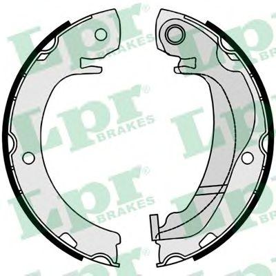 Тормозные колодки ручника LPR 09920
