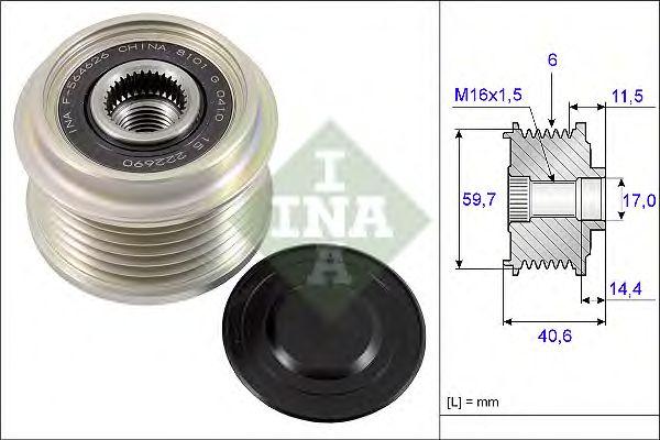 Бендикс INA 535 0227 10