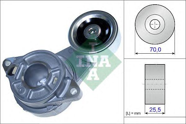 Натяжитель поликлинового ремня INA 534 0458 10