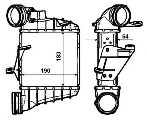 Интеркулер NRF 30476