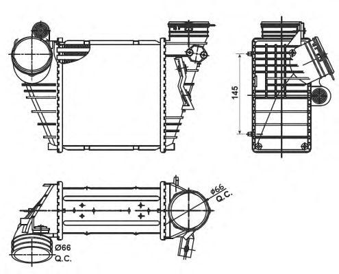 Интеркулер NRF 30838