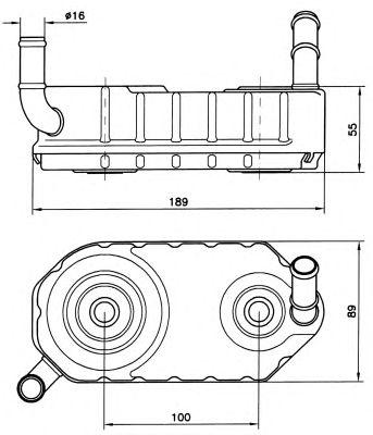 Масляный радиатор NRF 31004