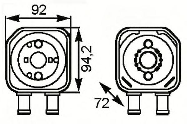 Масляный радиатор NRF 31179